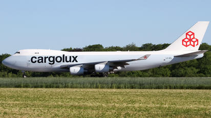 LX-GCL - Cargolux Boeing 747-400F, ERF