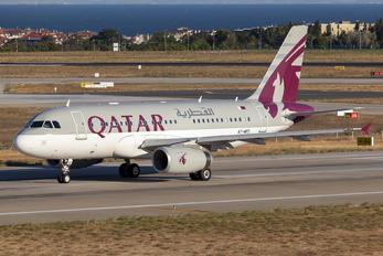 A7-MED - Qatar Amiri Flight Airbus A319 CJ