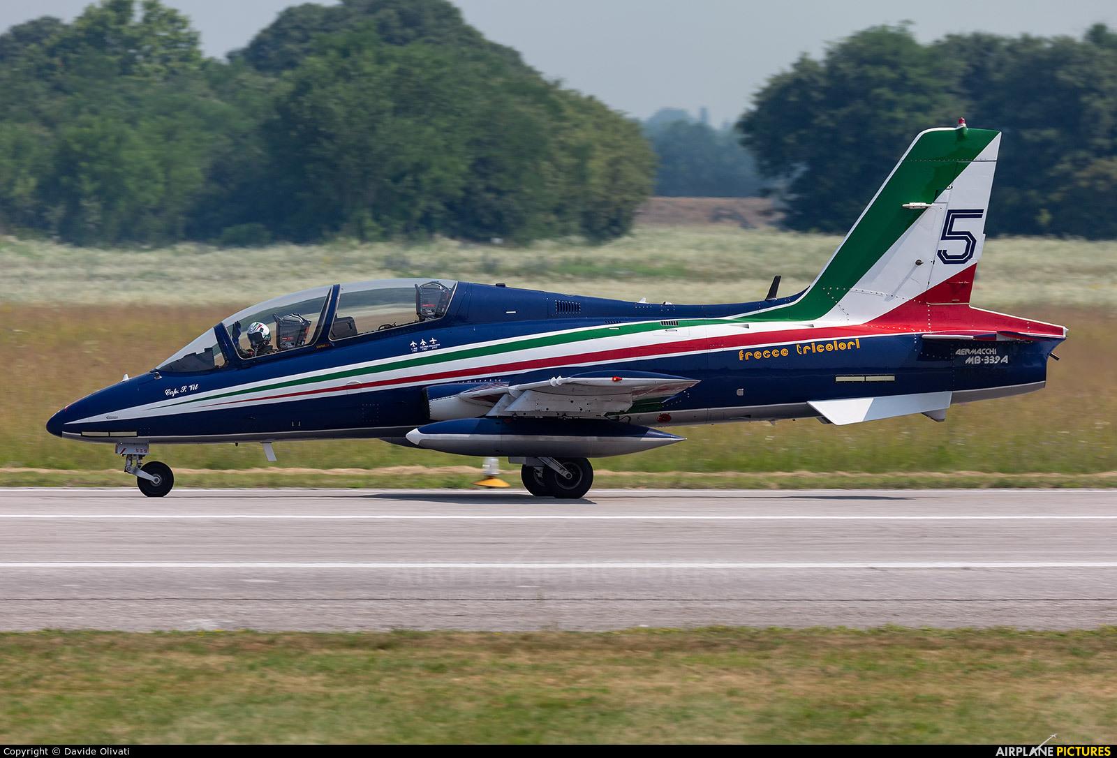 "Italy - Air Force ""Frecce Tricolori"" MM54539 aircraft at Rivolto"