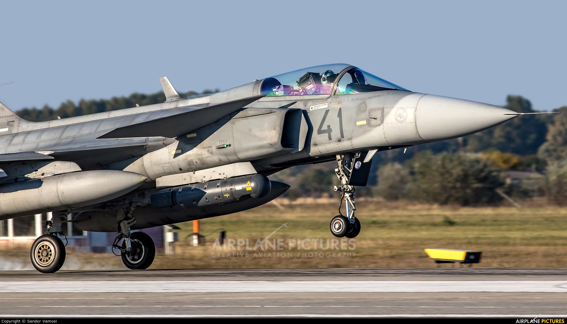 Hungary - Air Force 41 aircraft at Kecskemét