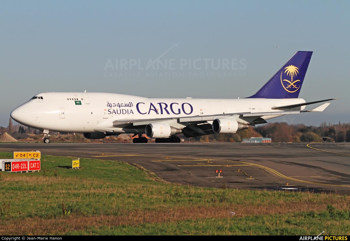 Saudi Arabian Cargo TF-AMR aircraft at Liège-Bierset
