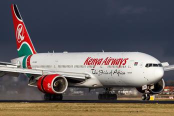 5Y-KQU - Kenya Airways Boeing 777-200ER