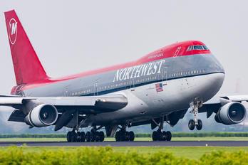 N623US - Northwest Airlines Boeing 747-200