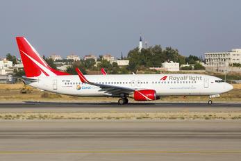 VP-BGZ - Royal Flight Boeing 737-800