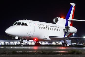 F-RAFQ - France - Air Force Dassault Falcon 900 series