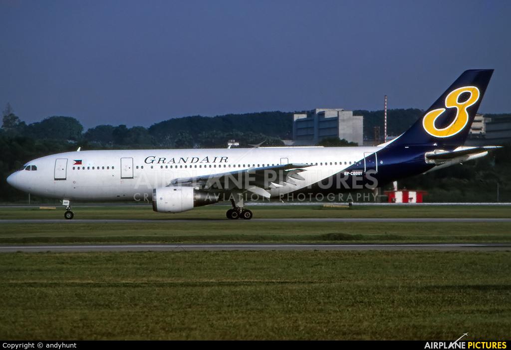 Grand Air RP-C8881 aircraft at Singapore - Changi