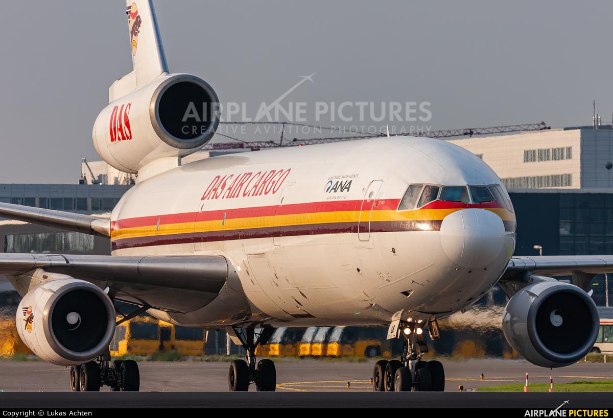 DAS Air Cargo 5X-JOS aircraft at Amsterdam - Schiphol