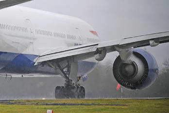 G-VIIR - British Airways Boeing 777-200
