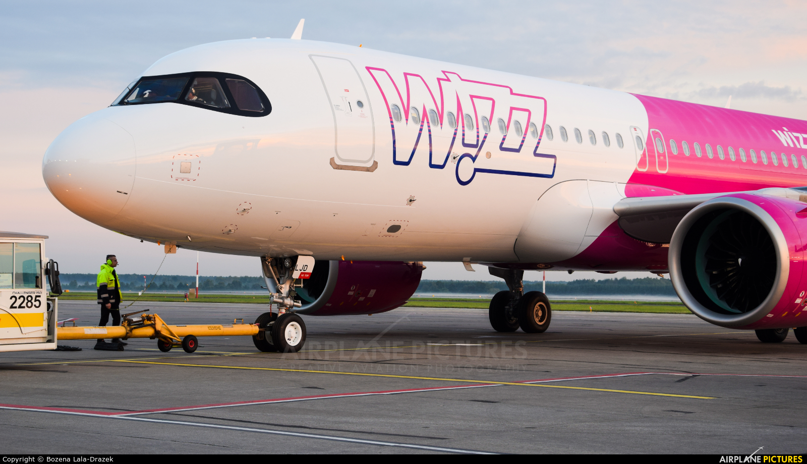 Wizz Air HA-LJD aircraft at Katowice - Pyrzowice