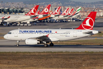 TC-JUD - Turkish Airlines Airbus A319