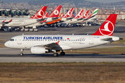 TC-JUD - Turkish Airlines Airbus A319 aircraft