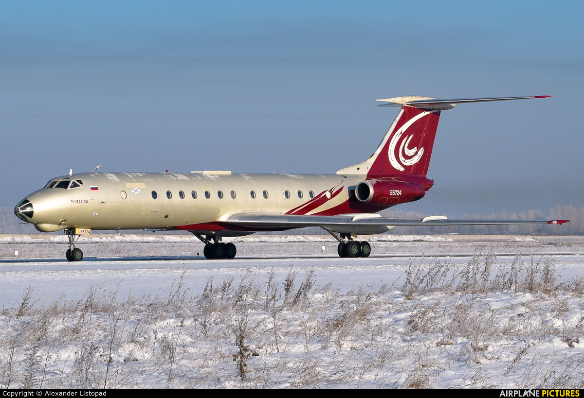 SibNIA 65724 aircraft at Novosibirsk