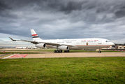 Egyptian President visited Paris onboard of Airbus A340 title=