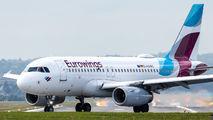 D-AGWC - Eurowings Airbus A319 aircraft