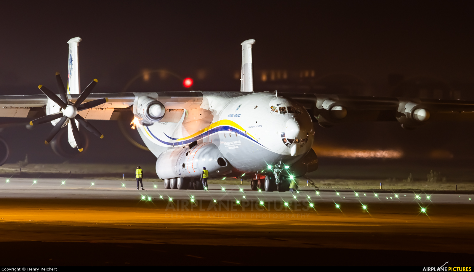 Antonov Airlines /  Design Bureau UR-09307 aircraft at Leipzig - Halle