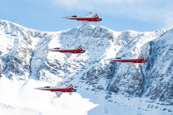 J-3091 - Switzerland - Air Force: Patrouille Suisse Northrop F-5E Tiger II