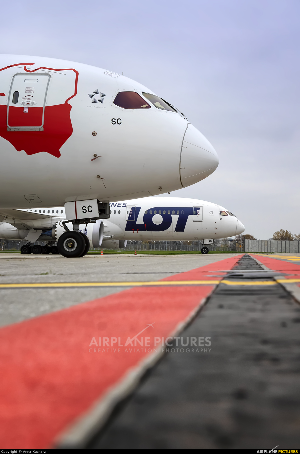 LOT - Polish Airlines SP-LSC aircraft at Warsaw - Frederic Chopin