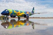 Embraer 190 E2 of Azul Linhas Aereas wears special colour scheme title=