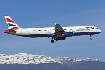 G-EUXC - British Airways Airbus A321