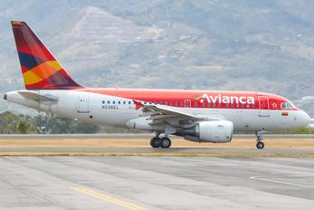 N598EL - Avianca Airbus A318