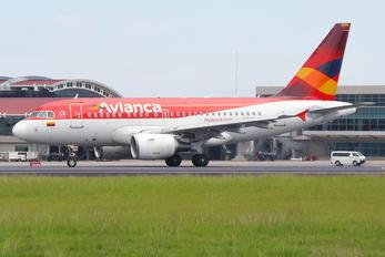 N595EL - Avianca Airbus A318