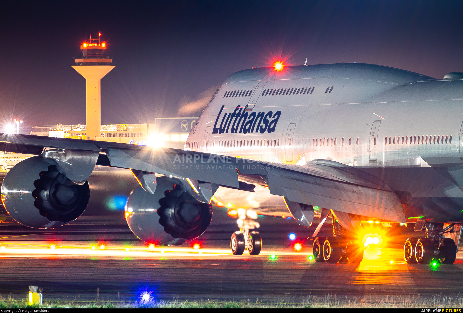 Lufthansa D-ABYG aircraft at Frankfurt