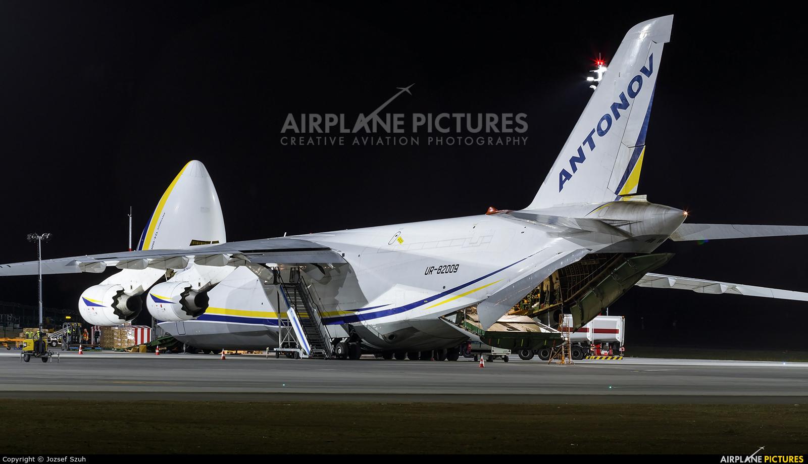 Antonov Airlines /  Design Bureau UR-82009 aircraft at Budapest Ferenc Liszt International Airport