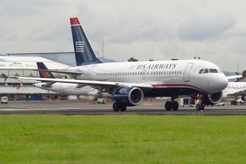 N748UW - US Airways Airbus A319