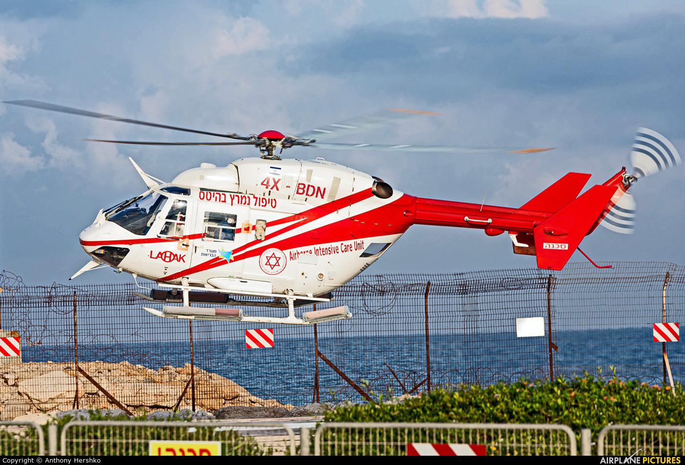Lahak Aviation 4X-BDN aircraft at Off Airport - Israel