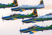 """5734 - Brazil - Air Force """"Esquadrilha da Fumaça"""" Embraer EMB-314 Super Tucano A-29A aircraft"""