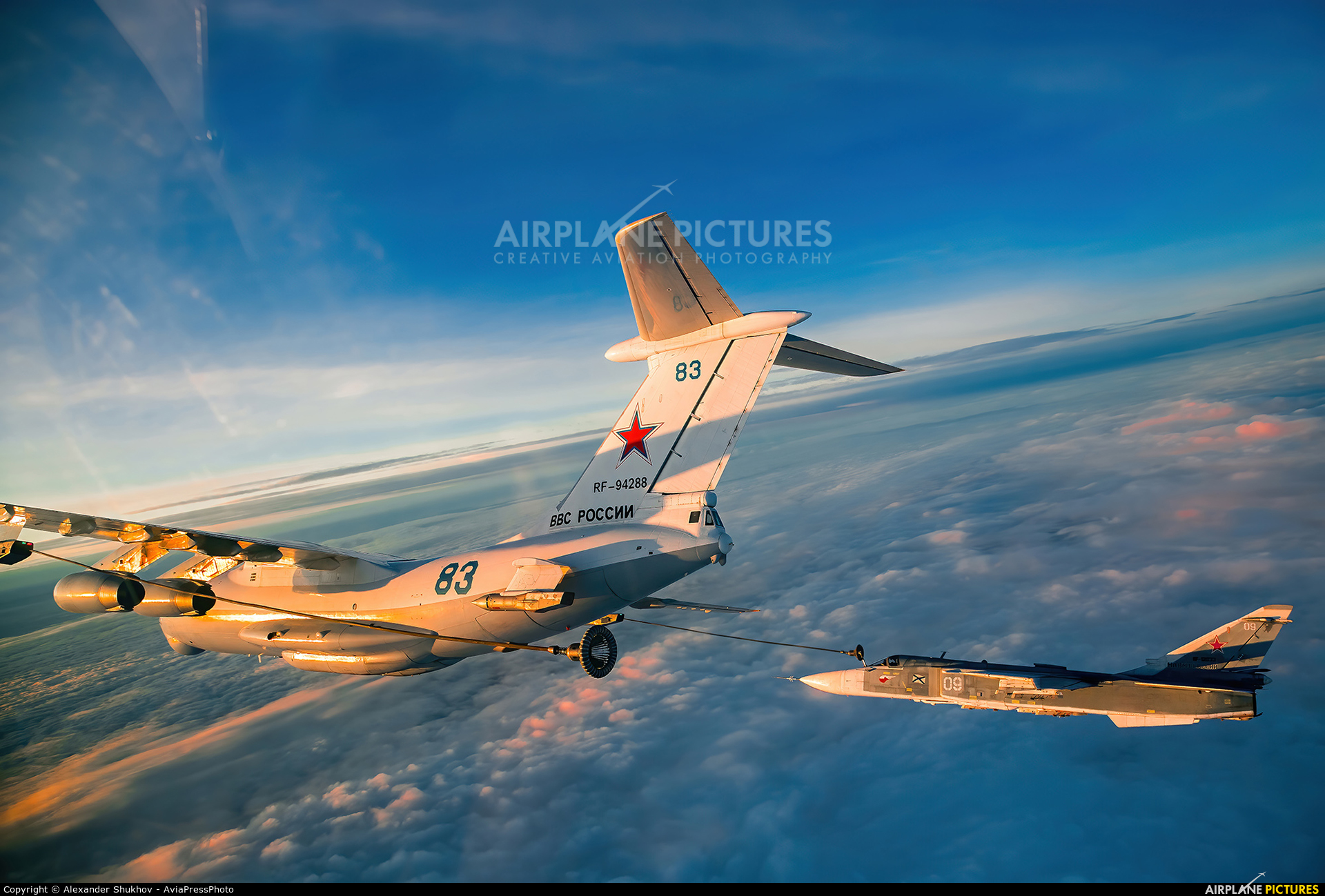Russia - Air Force RF-94288 aircraft at In Flight - Russia