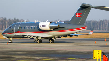 C-080 - Denmark - Air Force Canadair CL-600 Challenger 604