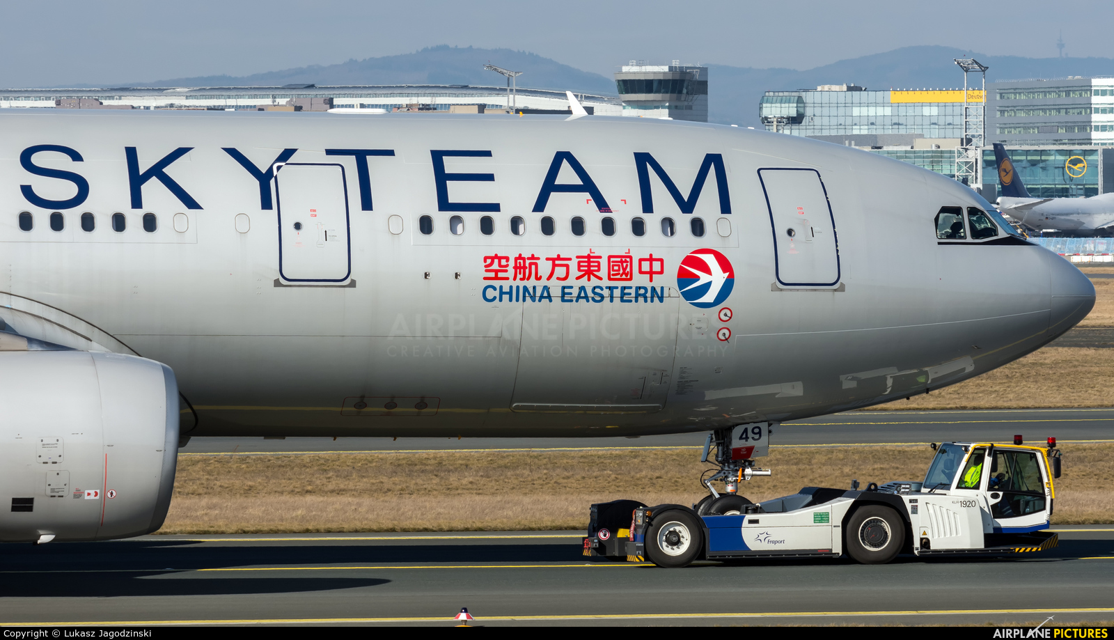 China Eastern Airlines B-5949 aircraft at Frankfurt
