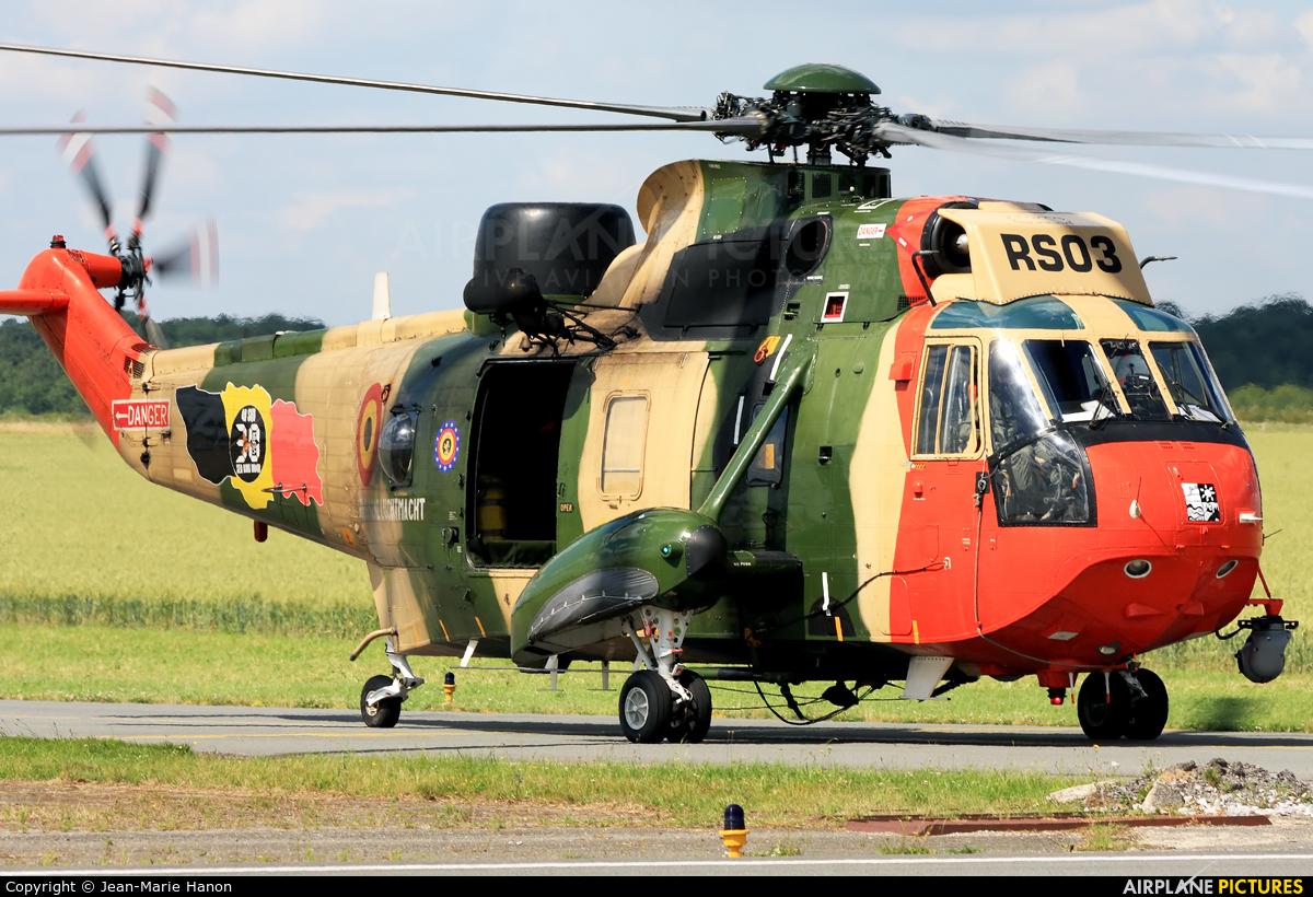 Belgium - Air Force RS03 aircraft at Florennes