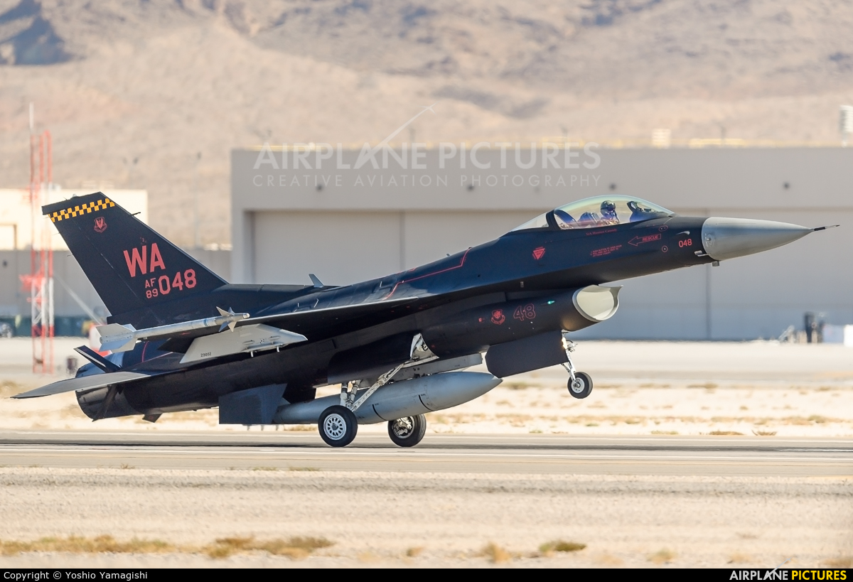 USA - Air Force 89-2048 aircraft at Nellis AFB