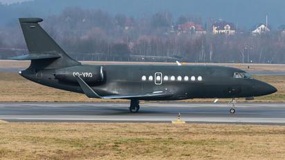 OO-VRO - Luxaviation Dassault Falcon 2000LX