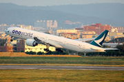 B-KQN - Cathay Pacific Boeing 777-300ER aircraft