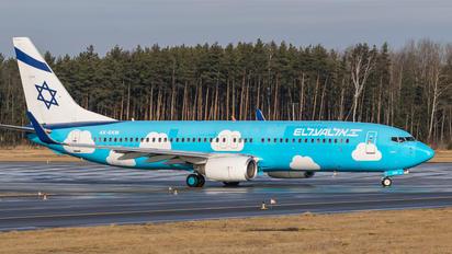 4X-EKM - El Al Israel Airlines Boeing 737-800