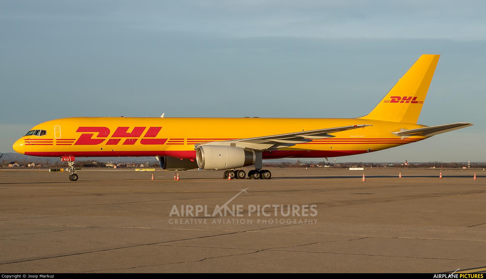 DHL Cargo G-DHKG aircraft at Zagreb