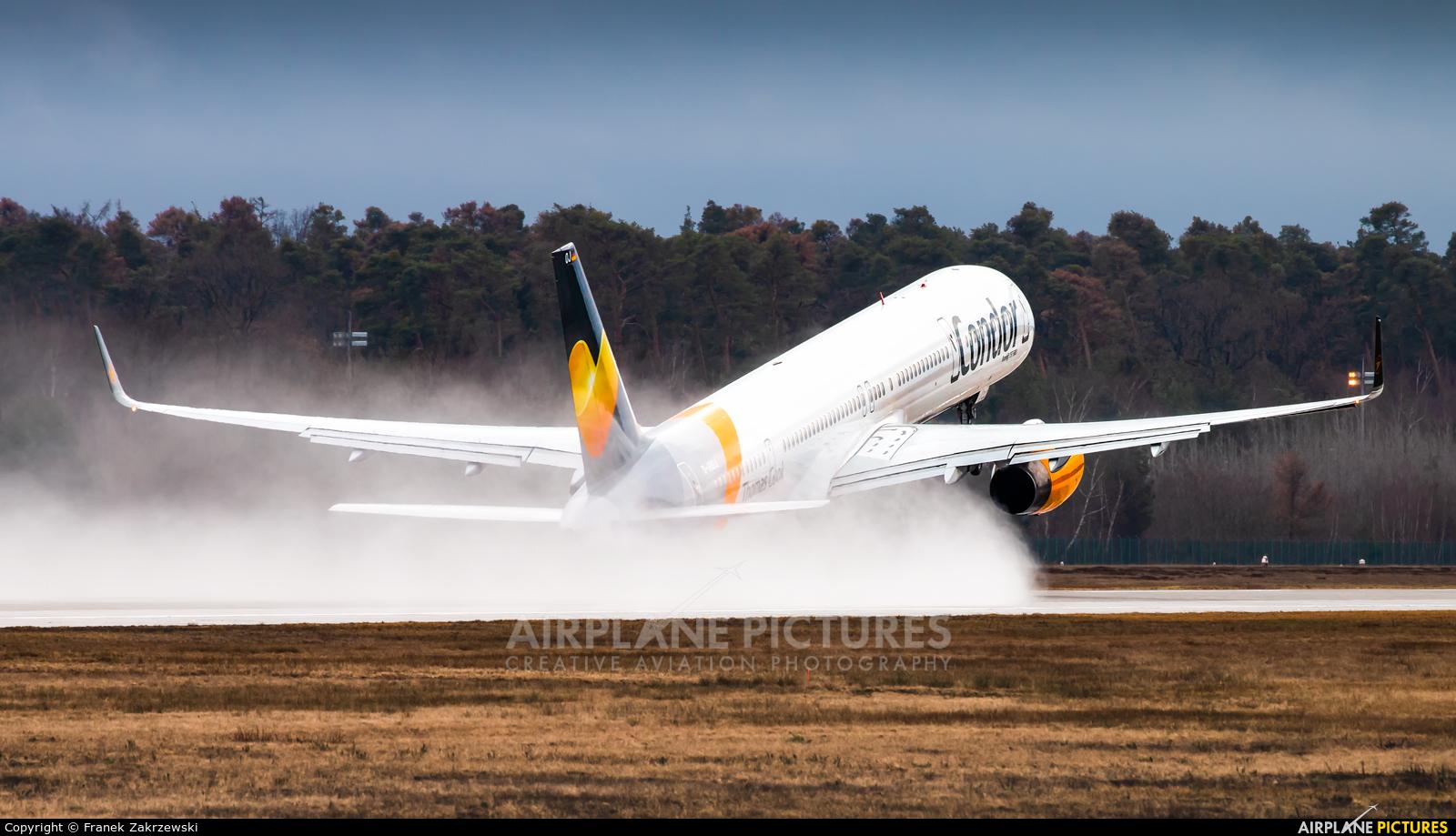 Condor D-ABOJ aircraft at Frankfurt