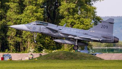 209 - Sweden - Air Force SAAB JAS 39C Gripen
