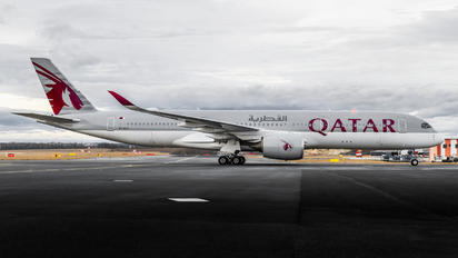 A7-ALY - Qatar Airways Airbus A350-900