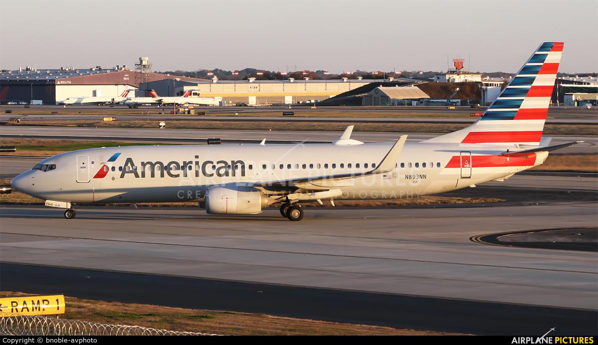 American Airlines N893NN aircraft at Atlanta - Hartsfield-Jackson Intl