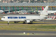 Western Global MD-11F visited Madrid title=