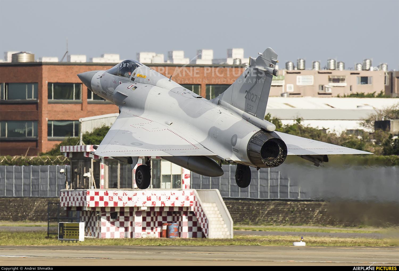Taiwan - Air Force 2027 aircraft at Hsinchu/Xinzhu AB