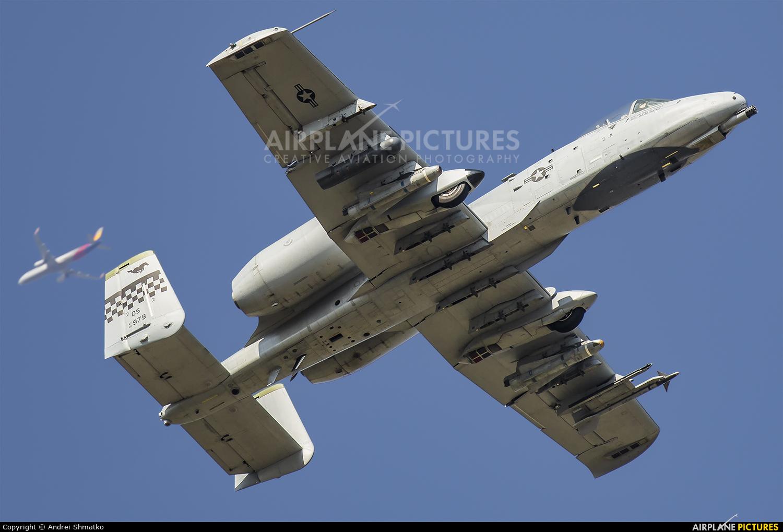 USA - Air Force 81-0979 aircraft at Osan AB