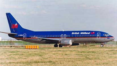 G-SFBH - British Midland Boeing 737-400