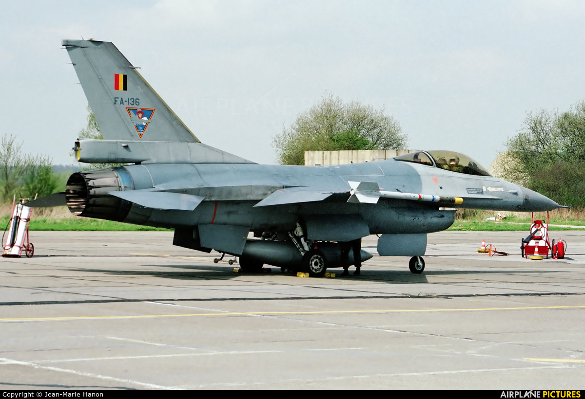 Belgium - Air Force FA-136 aircraft at Florennes
