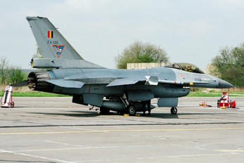 FA-136 - Belgium - Air Force General Dynamics F-16A Fighting Falcon
