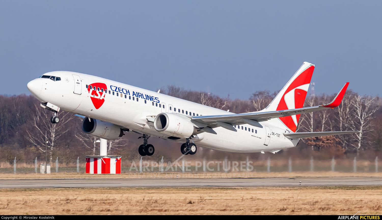 CSA - Czech Airlines OK-TST aircraft at Ostrava Mošnov